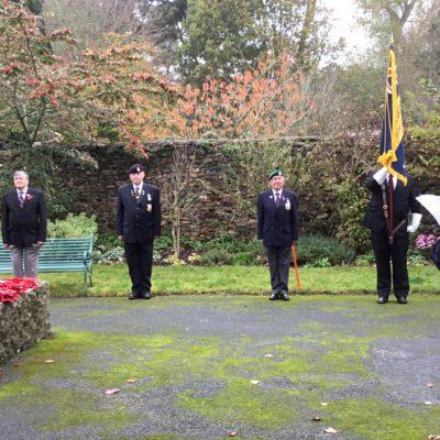 Royal British Legion in Memorial Garden